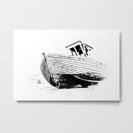 Dungeness Boat Metal Print