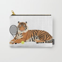 Tennis Tiger Carry-All Pouch