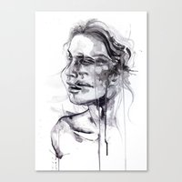 butterfly Canvas Prints featuring Tremore by agnes-cecile