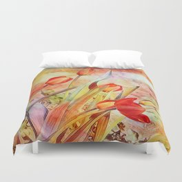 Spring Beauties Duvet Cover