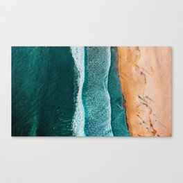 2 Sides of the Sand Canvas Print