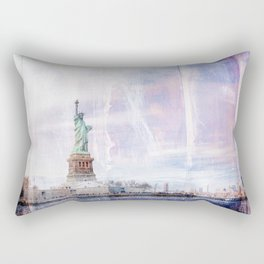 Statue of Liberty Art Rectangular Pillow