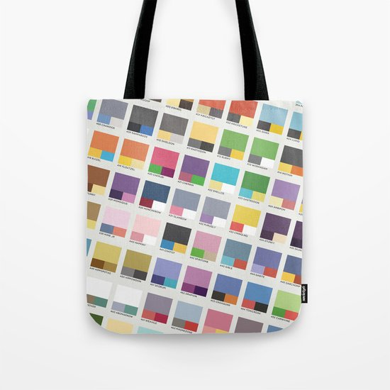 Poke-Pantone 4 (Sinnoh Region) Tote Bag