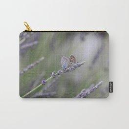 Lavender Butterflies - JUSTART © Carry-All Pouch