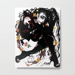 tangles Metal Print