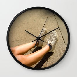 Who Am I Wall Clock