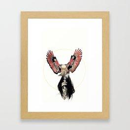 Haida Eagle Framed Art Print