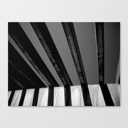Shadows and Bars Canvas Print