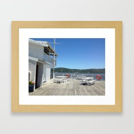 Knysna Yacht Club Framed Art Print