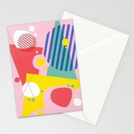 Abstract Pop I Stationery Cards