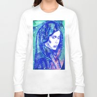 leia Long Sleeve T-shirts featuring Princess Leia by grapeloverarts