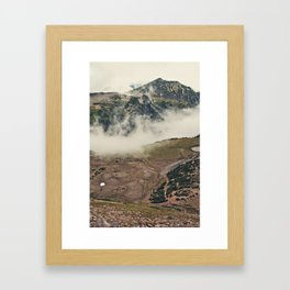 Mountain Hike Framed Art Print