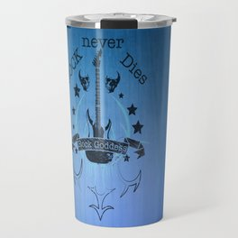 Rock Never Dies - For Music Fans Travel Mug