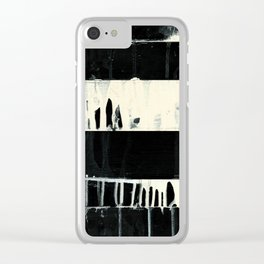 wabi sabi 16-03 Clear iPhone Case