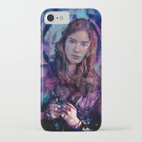 amy pond iPhone & iPod Cases featuring Amy Pond by Sirenphotos