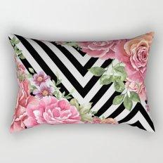 flowers geometric Rectangular Pillow