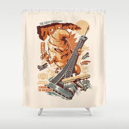 The Kaijussant Shower Curtain