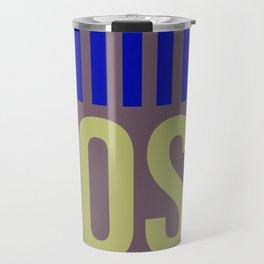 OSL Oslo Luggage Tag 2 Travel Mug