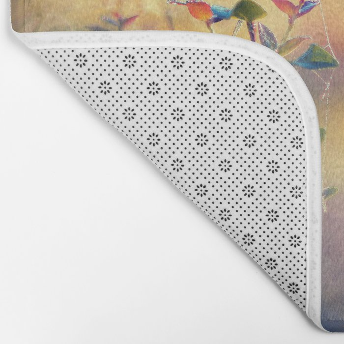 Arrival of Time Bath Mat