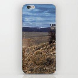 Comanche Trail iPhone Skin