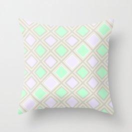 A squares game Throw Pillow