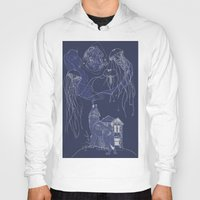 jelly fish Hoodies featuring Jelly Fish by Jessica Bowman Illustrates