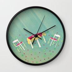 Deliciously al Dente Wall Clock