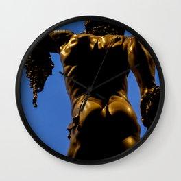 Perseus and Medusa. Wall Clock