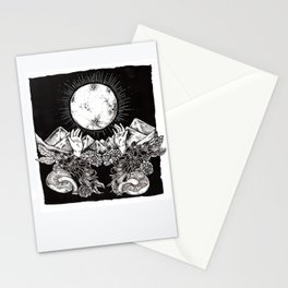 """Harvest Moon"" Stationery Cards"