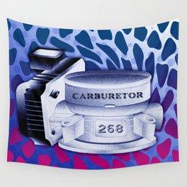 Carburetor 3 Wall Tapestry