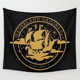 Neverland Sailing Co. Wall Tapestry