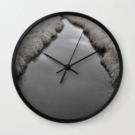 Long River Way  Wall Clock