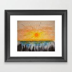 Island on the Sun  Framed Art Print