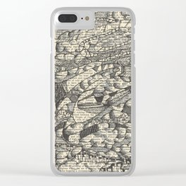 Rolling with the Wind Clear iPhone Case