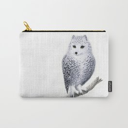 Snowy Fowl Carry-All Pouch