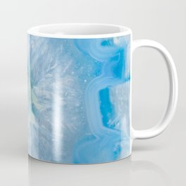 Baby Blue Crystal Agate Coffee Mug