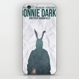 Donnie Darko Movie Poster iPhone Skin