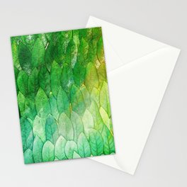 when the light hits the leaves Stationery Cards