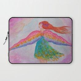 Rainbow Wings Laptop Sleeve