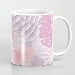 My Pink Abstract Aloha Flower Jungle Garden Coffee Mug