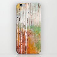 birch iPhone & iPod Skins featuring Birch  by Indraart