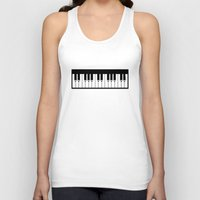 piano Tank Tops featuring Piano by Beitebe
