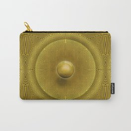 Golden Sunrise Pattern Carry-All Pouch