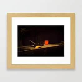 Bar of Gold Framed Art Print