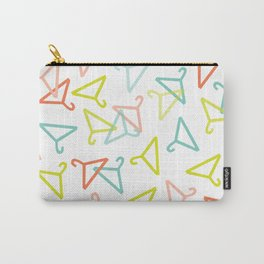 Coloured Hangers Carry-All Pouch