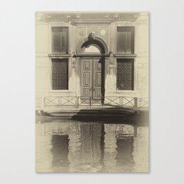 Venice Reflections Canvas Print