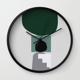 Shape study #3 - Stackable Collection Wall Clock