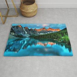Lake Louise - Alberta, Canada Landscape Rug