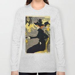 Toulouse Lautrec Divan Japonais music hall Long Sleeve T-shirt