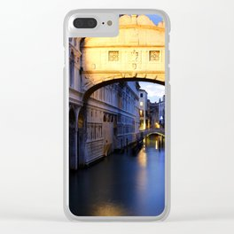 The Bridge of Sighs Clear iPhone Case